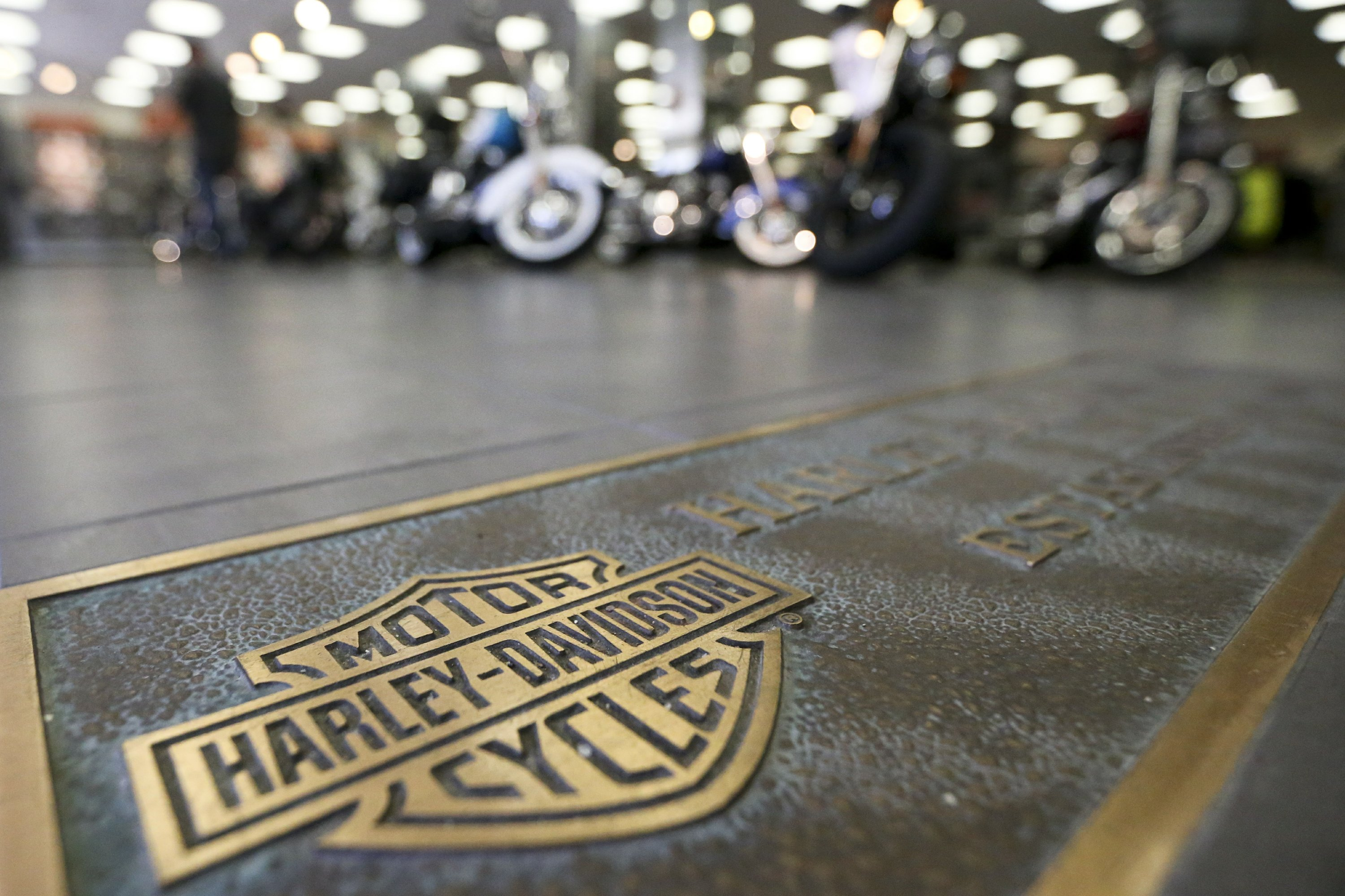Trump denies he's to blame for Harley-Davidson decision