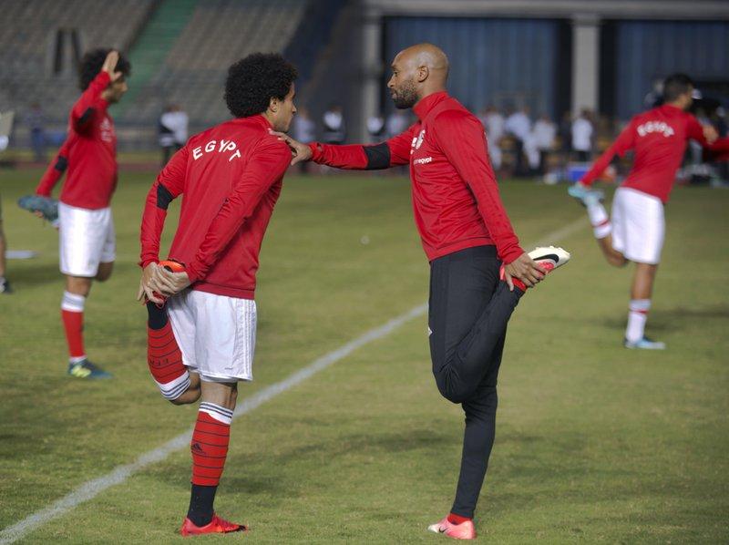 Mahmoud Abdel-Razeq, Omar Gaber, Shikabala