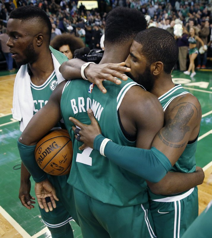Kyrie Irving, Jaylen Brown