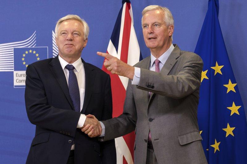 Michel Barnier,David Davis