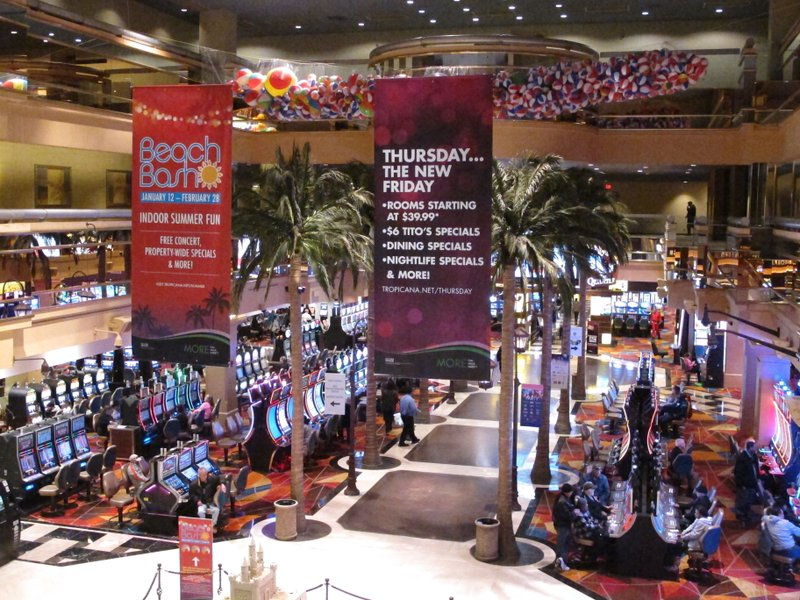 Once near death, Tropicana now No  2 casino in Atlantic City