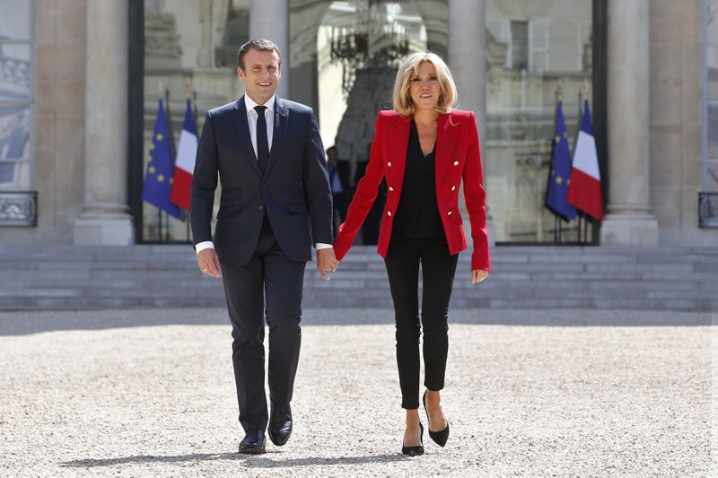Charter Defines Role Of Macron S Wife Still Not First Lady