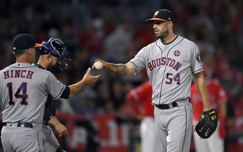 Mike Fiers, A.J. Hinch, Max Stassi