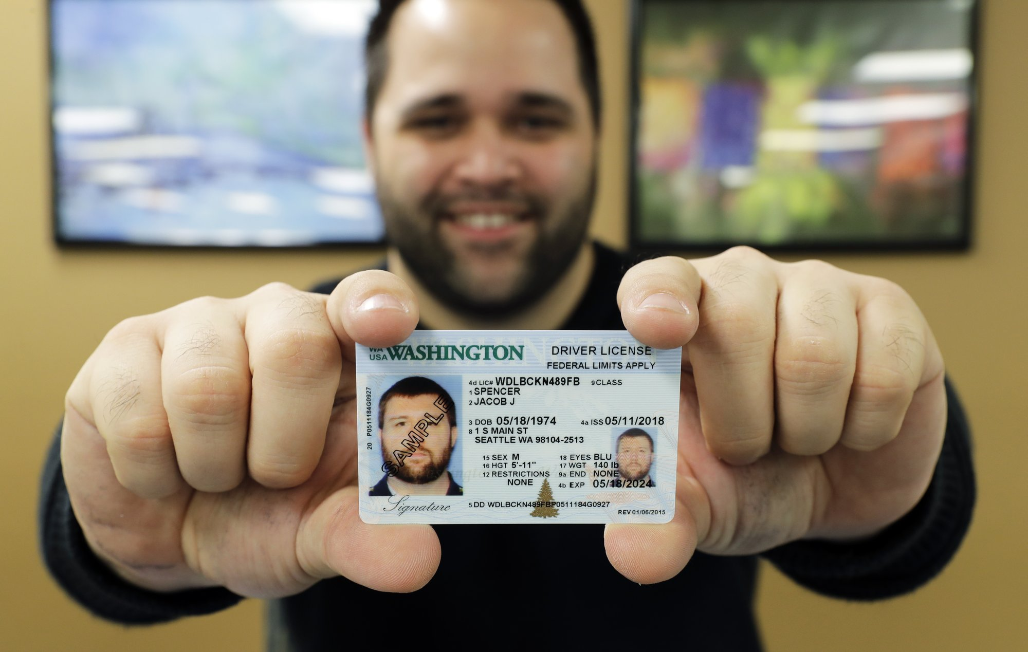 To Coming Licenses Ids Changes Washington Standard
