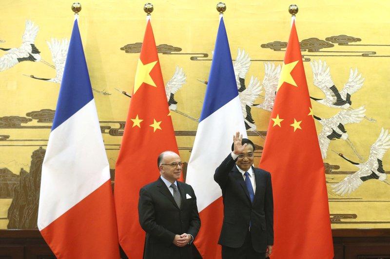 Li Keqiang, Bernard Cazeneuve