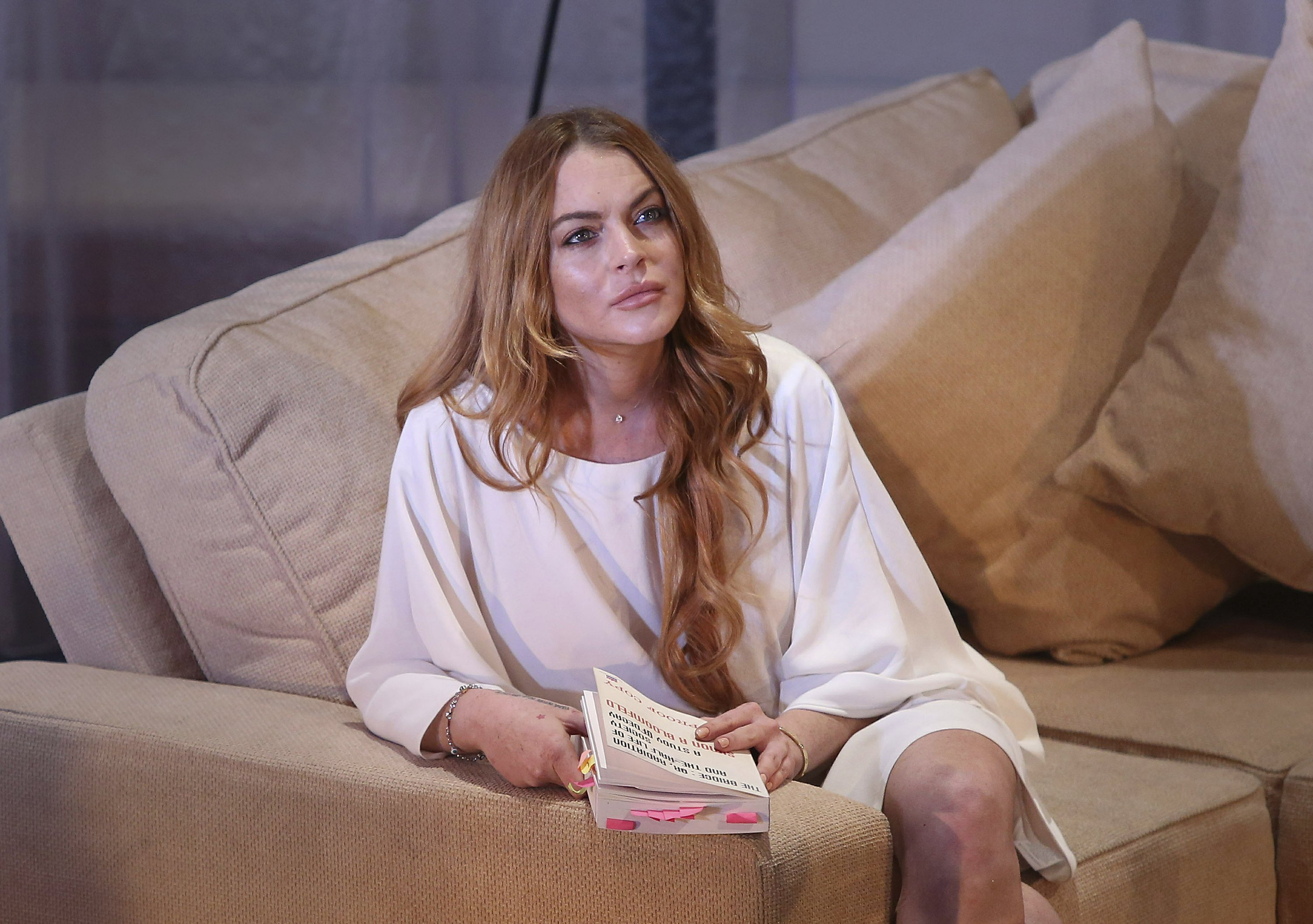 Lindsay Lohan: Support Trump, would be 'a positive thing'