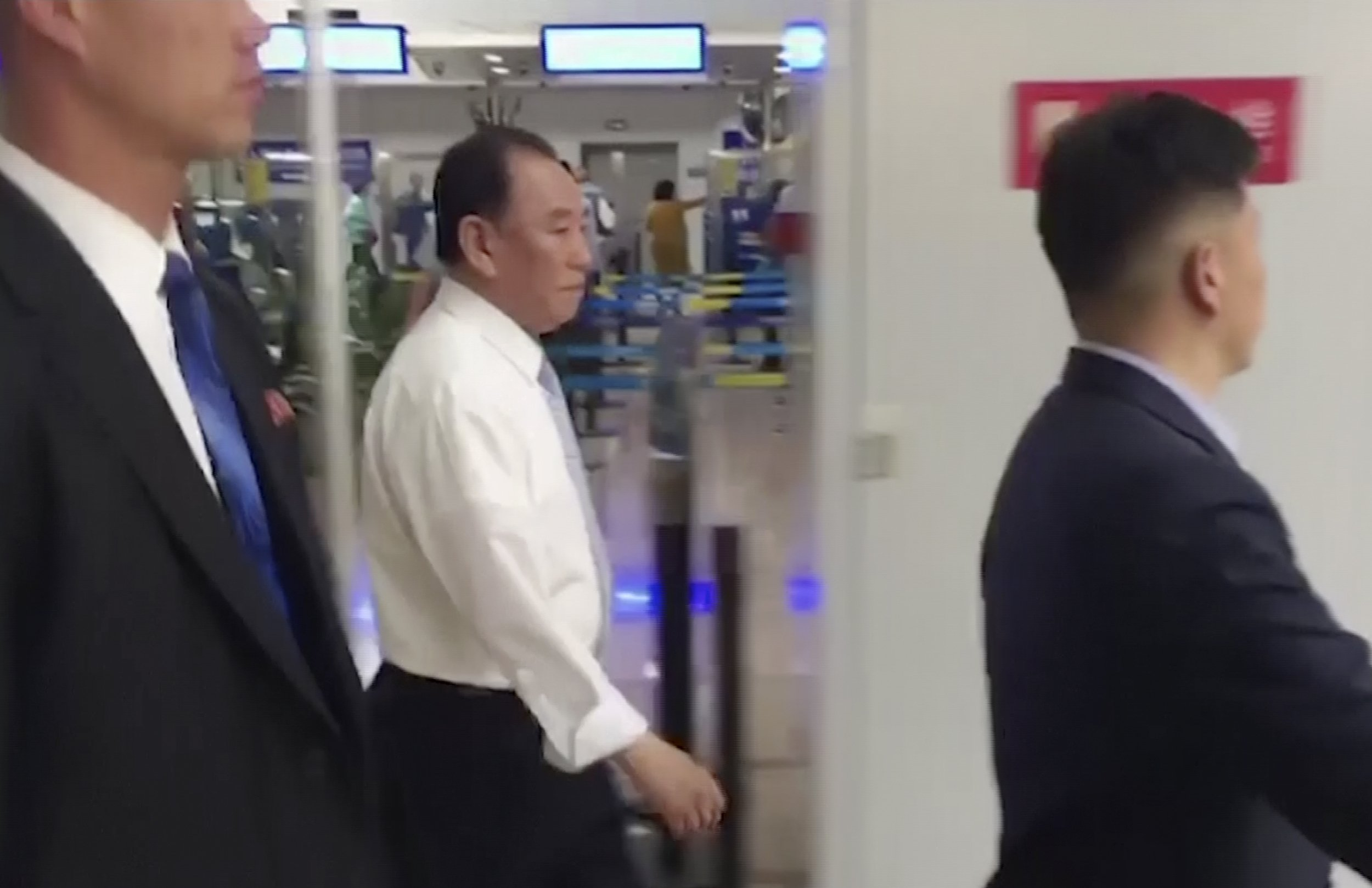 Senior NKorean official heads to NY to plan for Trump summit