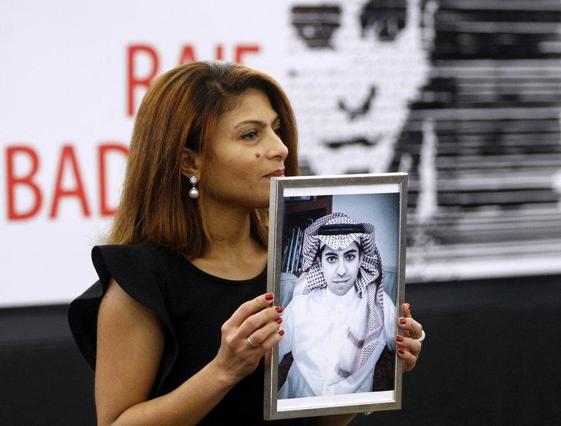 Ensaf Haidar, Raif Badawi