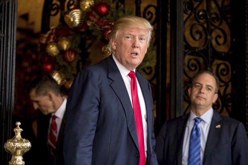 Donald Trump, Reince Priebus, Mike Flynn
