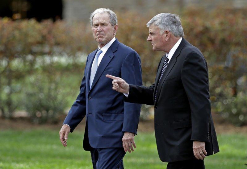 George W. Bush, Franklin Graham