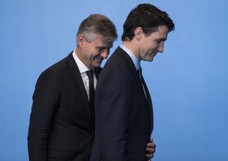 Justin Trudeau, Jean-Pierre Lacroix