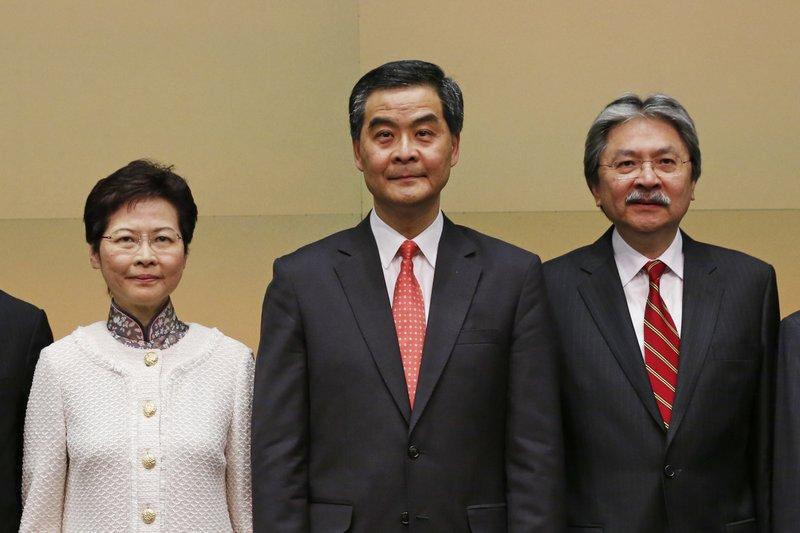 Carrie Lam, Leung Chun-ying, John Tsang