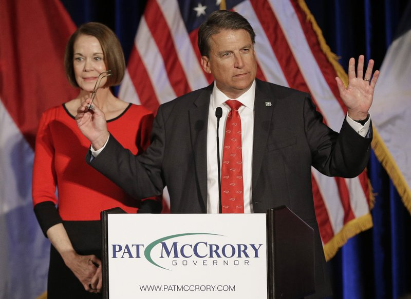 Pat McCrory, Ann McCrory