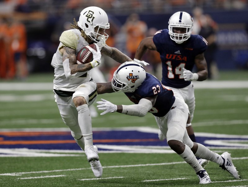 Baylor S Jalen Hurd Goes From Top Sec Runner To Top Receiver