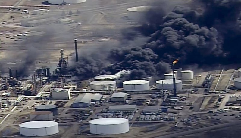 2020 restart expected at Wisconsin refinery after explosion