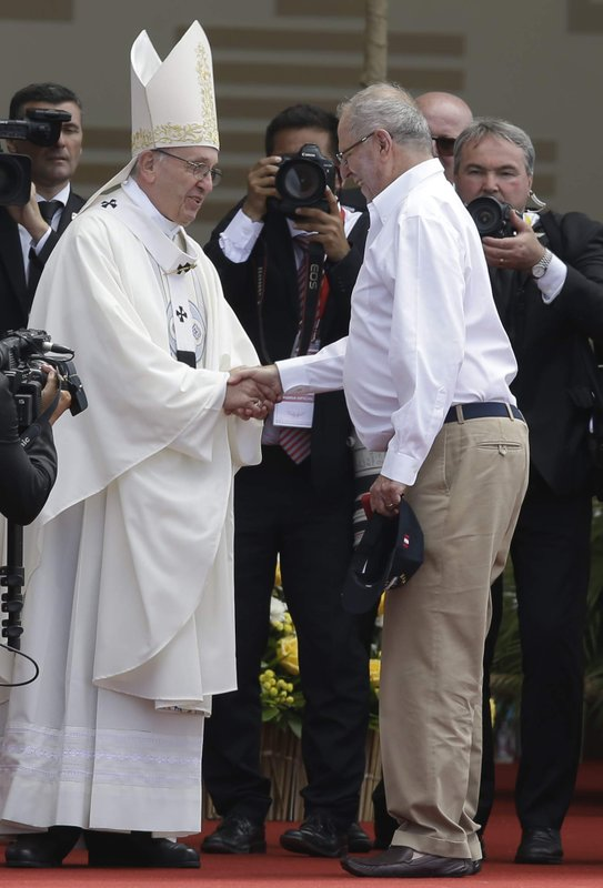 Pope Francis Pedro Pablo Kuczynski