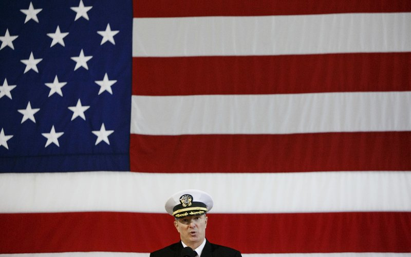 USS Enterprise decomission ceremony