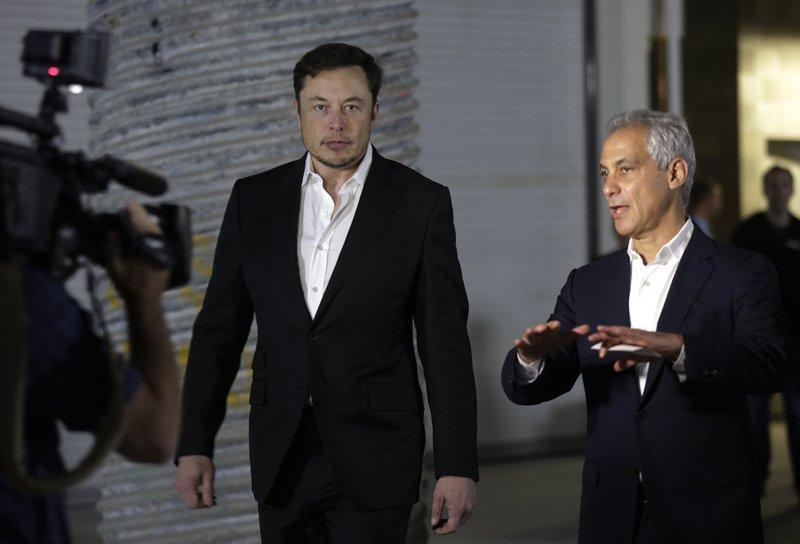 Elon Musk, Rahm Emanuel
