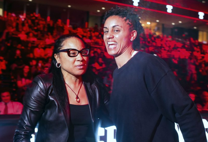 Dawn Staley, Candice Dupree