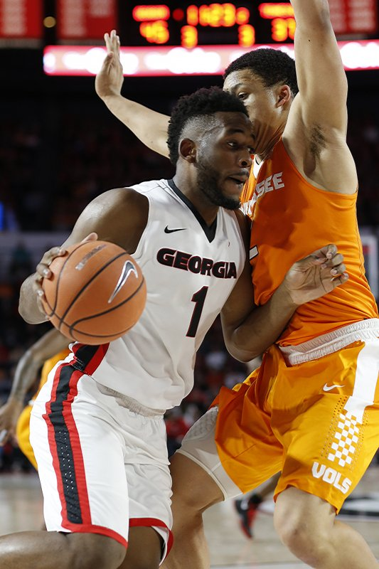 Georgia basketball, Tennessee basketball