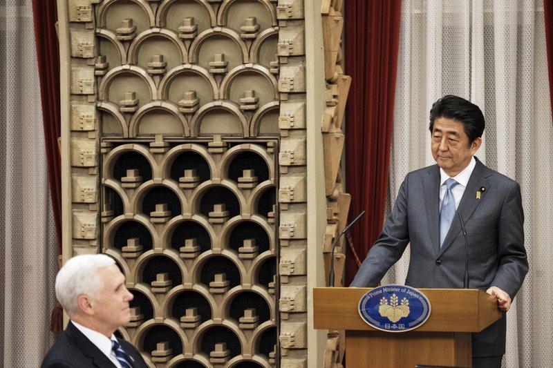 Shinzo Abe, Mike Pence