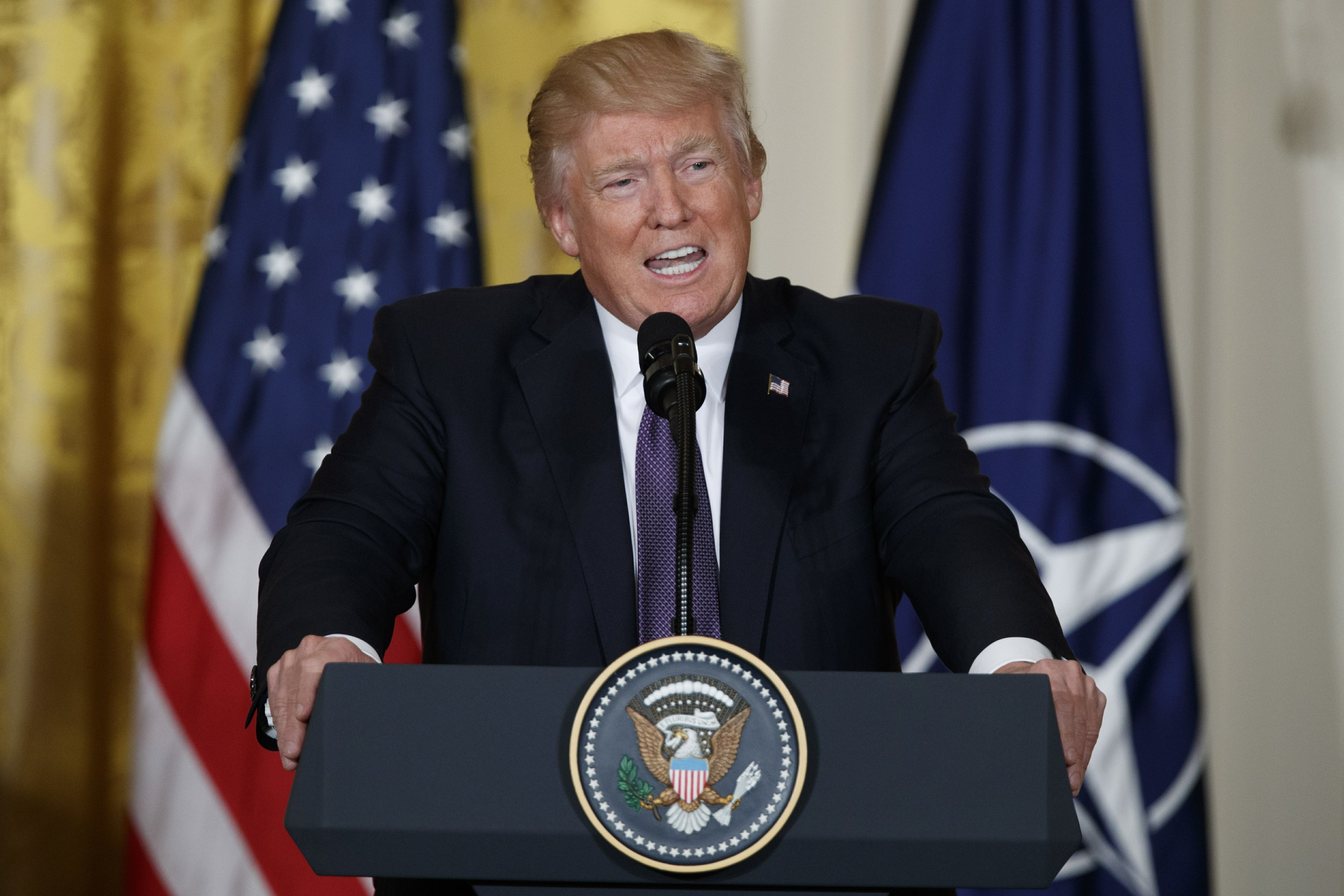 Trump reverses himself on NATO, China, Russia and more