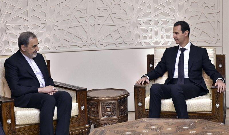 Bashar Assad, Ali Akbar Velayati