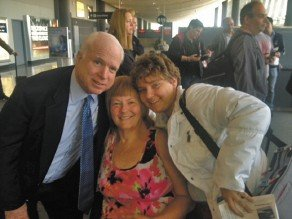 When She Was Down, John McCain Extended His Hand