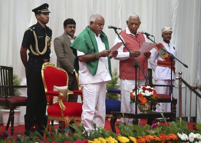 Vajubhai Vala, B. S. Yeddyurappa