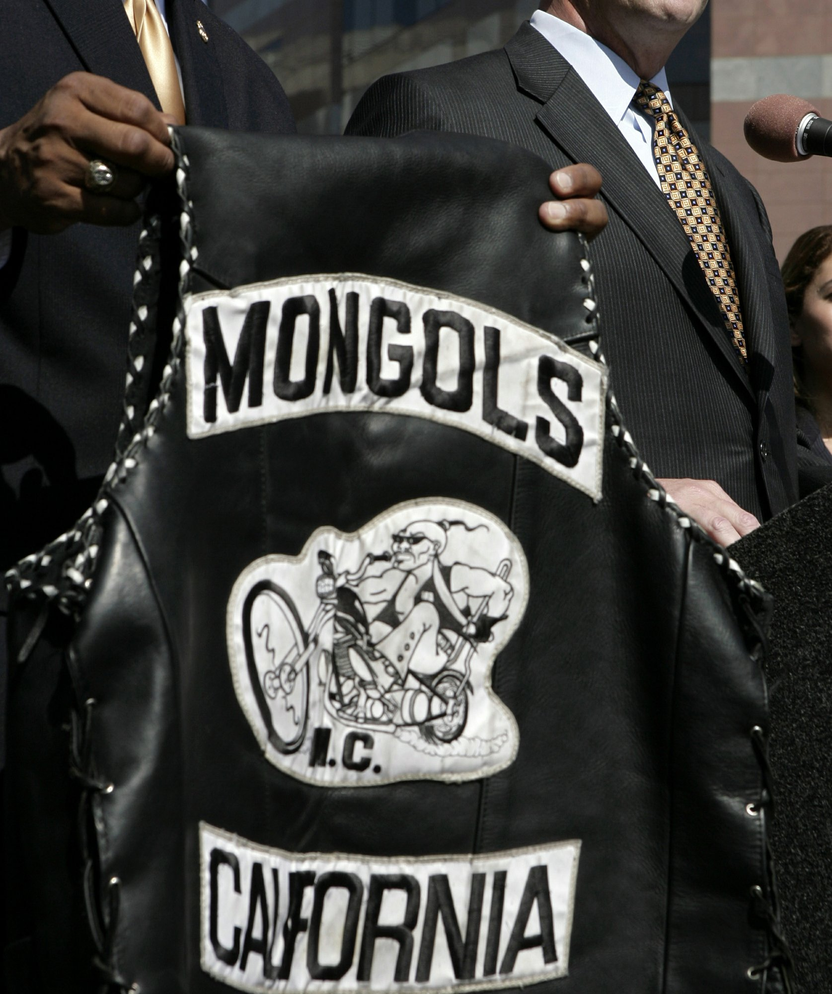 Mongols biker club fined $500,000 but keeps logo trademarks