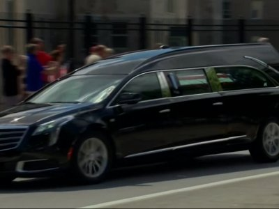 McCain's Casket Brought to Annapolis for Burial