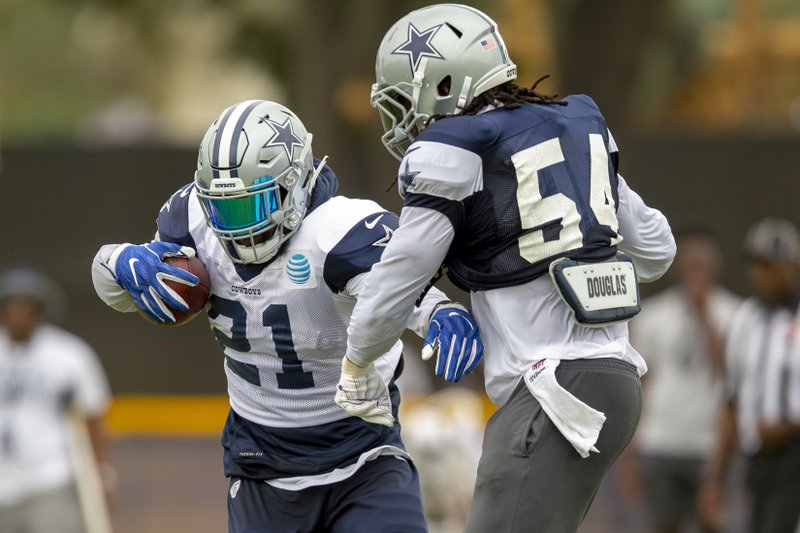 339b6faa7bb 'Completely different' Elliott preps for Cowboys sans drama
