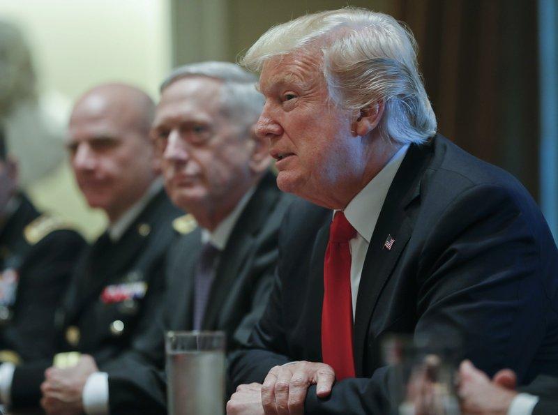 Donald Trump, Jim Mattis, H.R. McMaster