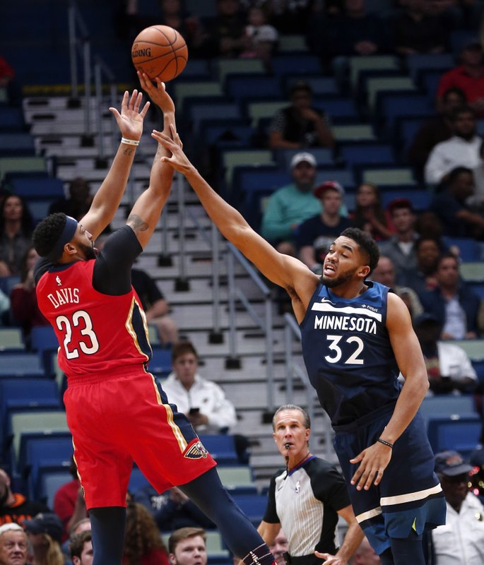 Anthony Davis, , Karl-Anthony Towns
