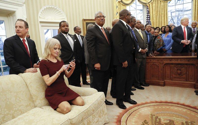 Donald Trump, Reince Preibus, Kellyanne Conway
