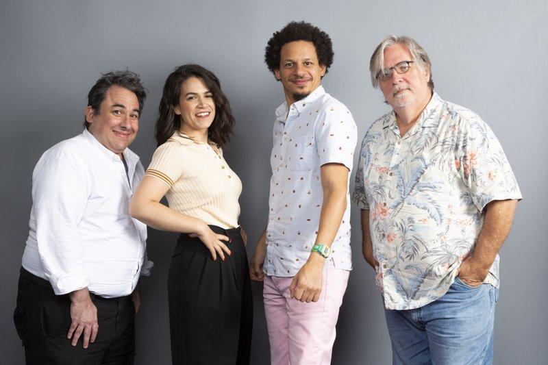 Matt Groening, Abbi Jacobson, Eric Andre, Josh Weinstein