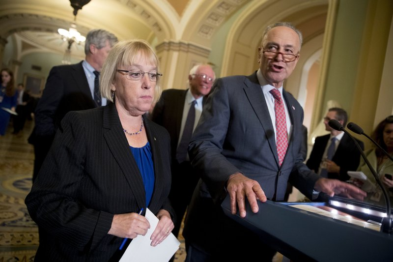 Patty Murray, Chuck Schumer, Bernie Sanders