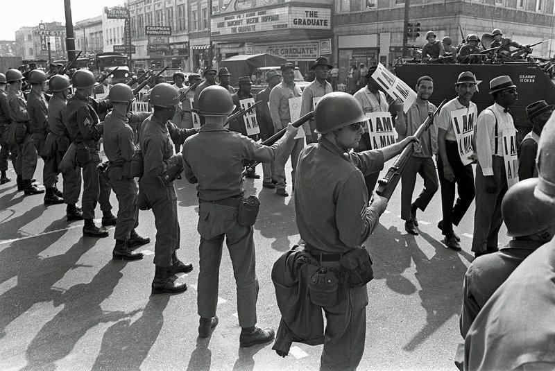 Memphis Sanitation Workers March