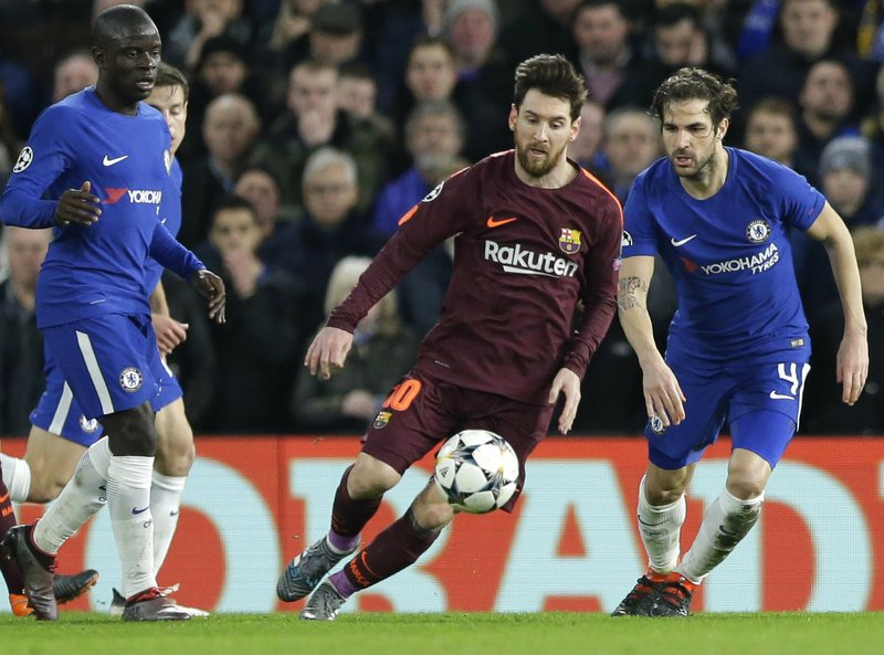 Lionel Messi , Cesc Fabregas