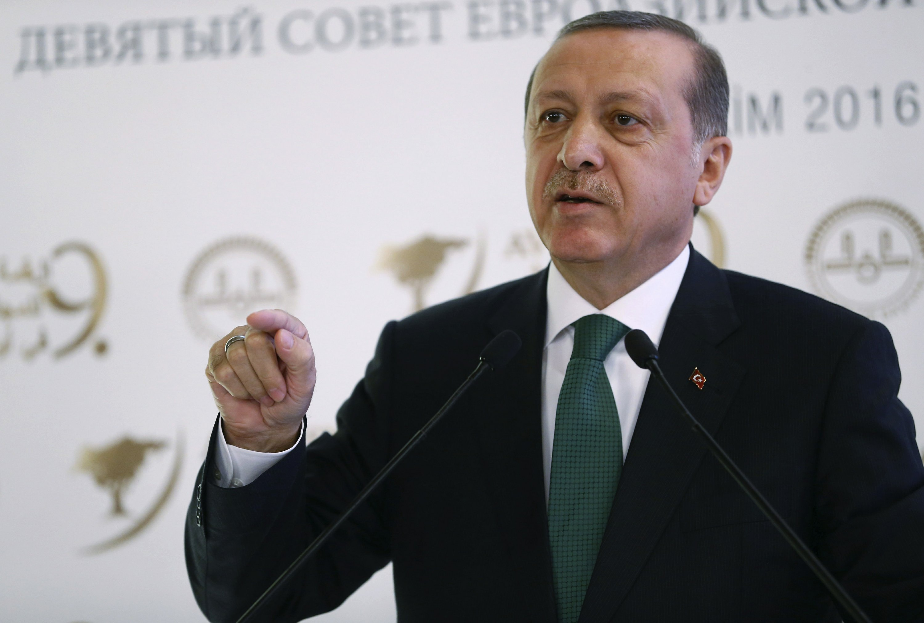 Turkey's president tells Iraqi leader to 'know his place'