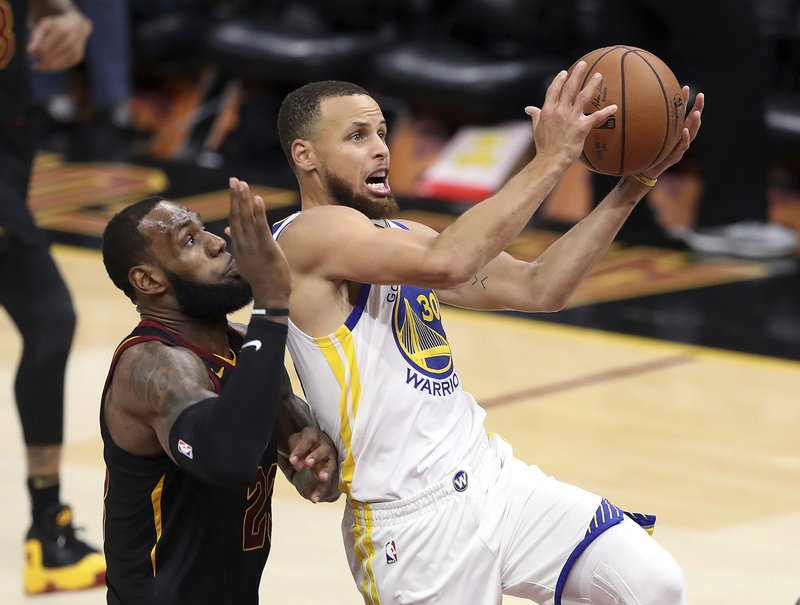 14885c3e5180 Stephen Curry ready to see LeBron James even more often