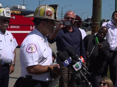 Explosion, Roof Collapse in Chicago Injures 10