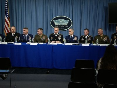 Senior Enlisted Leaders Address NKorea Threat