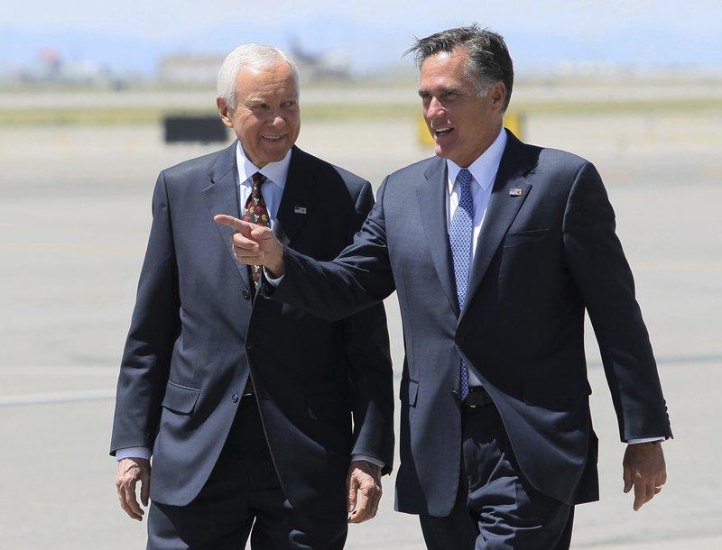 Mitt Romney, Orrin Hatch