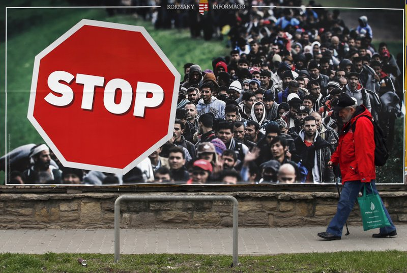 Image result for stop migrants