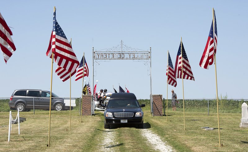 Richard W. Lane burial