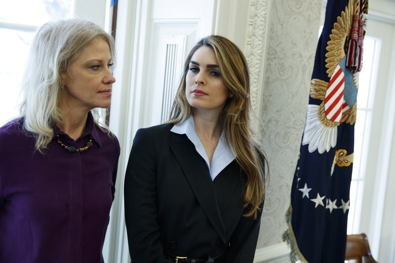 Hope Hicks, Kellyanne Conway