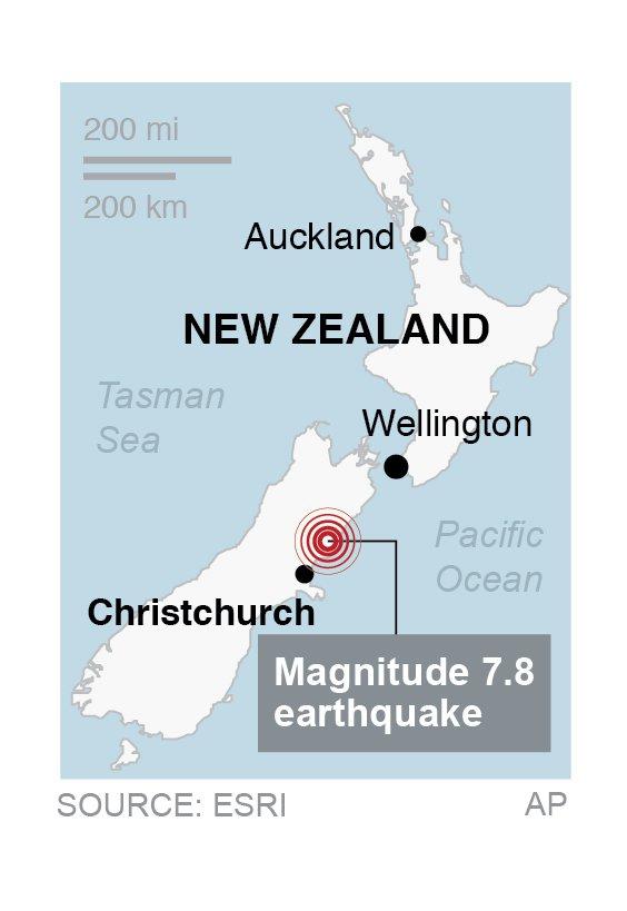 NEW ZEALAND QUAKE 3