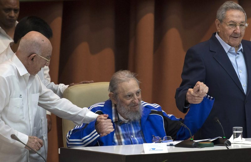 Fidel Castro, Raul Castro, Jose Ramon Machado Ventura