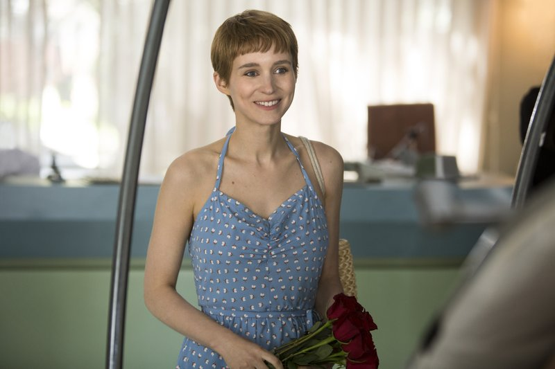 Rooney Mara, DON'T WORRY, HE WON'T GET FAR ON FOOT